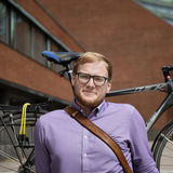 Spatial planning and transportation master's student Niklas