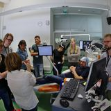 TMS-EEG Summer School 2016, photo by Lari Koponen
