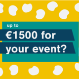 Up to €1500 for your event?