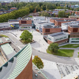 Aerial photo of Väre in Otaniemi