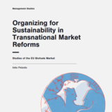 Organizing for Sustainability in Transnational Market Reforms - Studies of the EU Biofuels Market