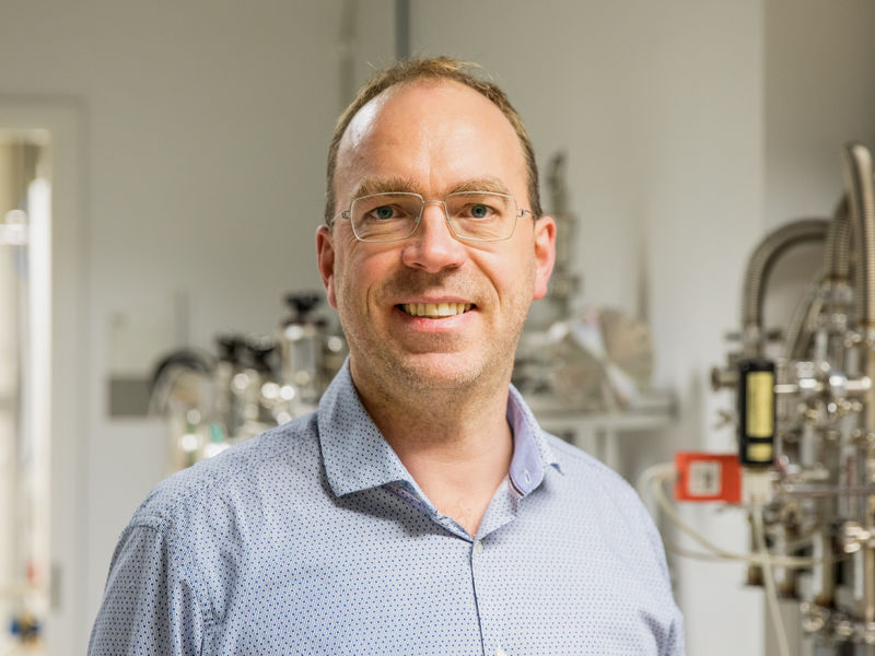 Prof. Robin Ras, the head of Soft Matter and Wetting research group. Photo by Mikko Raskinen