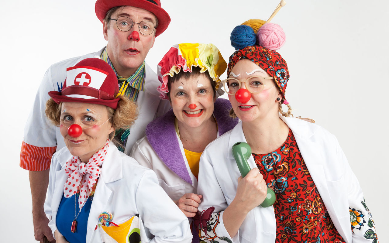 Hospital Clowns new Costumes, Aalto University/ Finnish Hospital Clowns Association, photograph by Juuso Partti, 2017