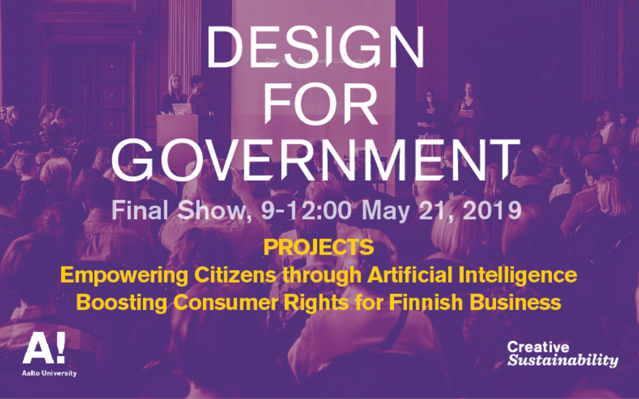 Design for Government Final Show