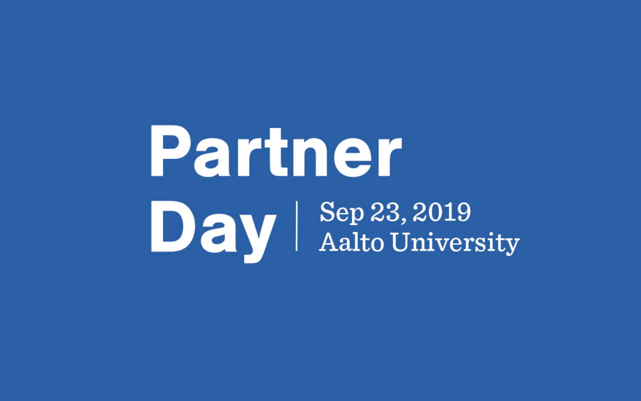 Aalto University Partner Day banner
