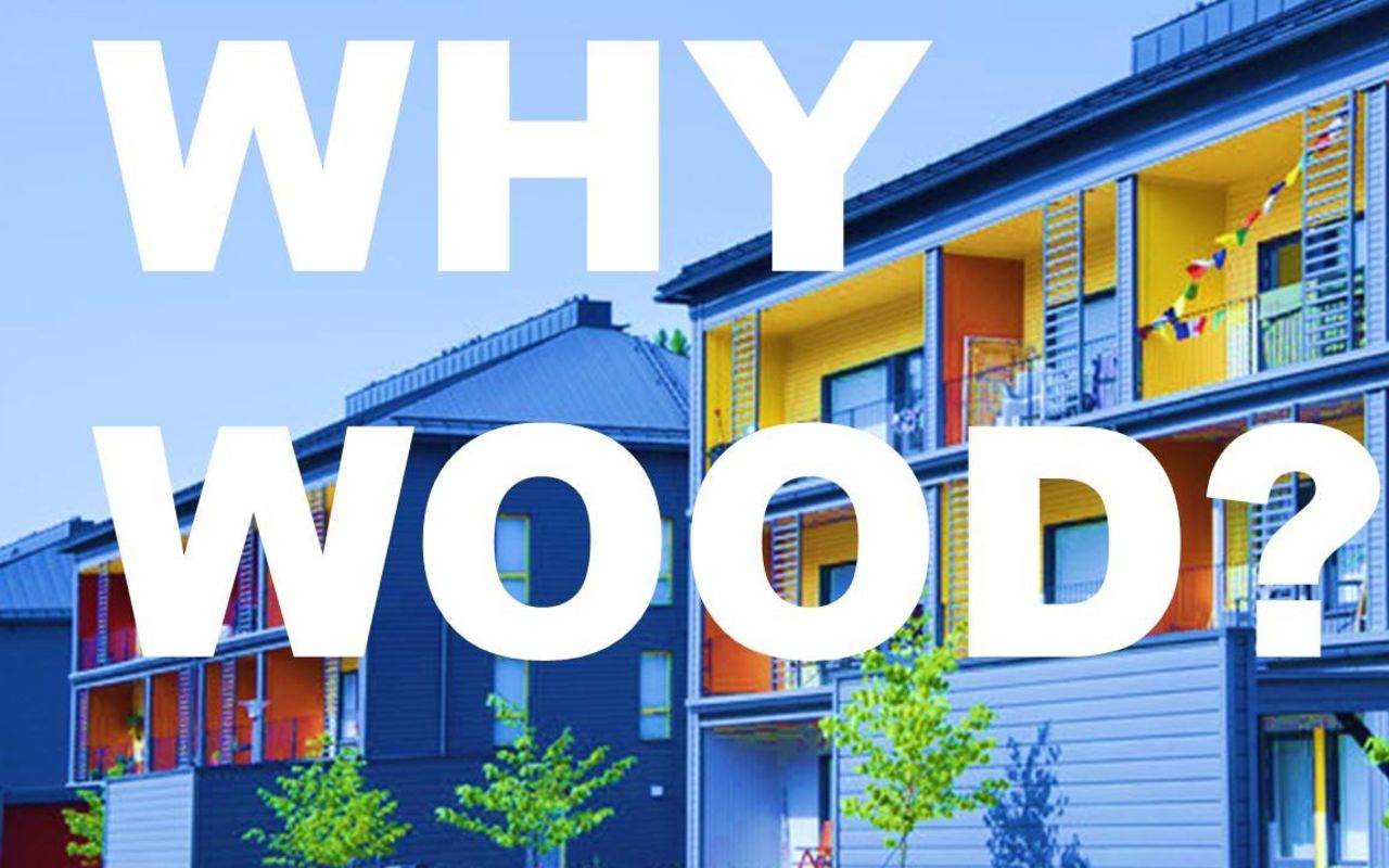 Why Wood? Urban Academy Event 16.12.2019 Aalto Living+ Hub. Photo: Honkasuo, Susa Junnola / City of Helsinki