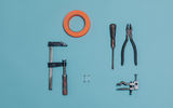 Photo of electricians' tools. Photo by Aleksi Poutanen.