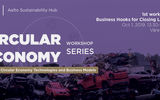 Circular economy workshop series
