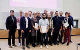 Aalto University / A group picture of the award winners / photo: Linda Koskinen