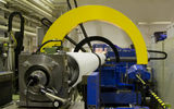 Paper machine roll at Aalto University ARotor lab