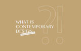 What is contemporary design?