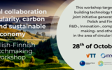 Finnish-Polish Green Deal bioeconomy collaboration webinar