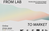 Illustrative banner for the From Lab to Market event