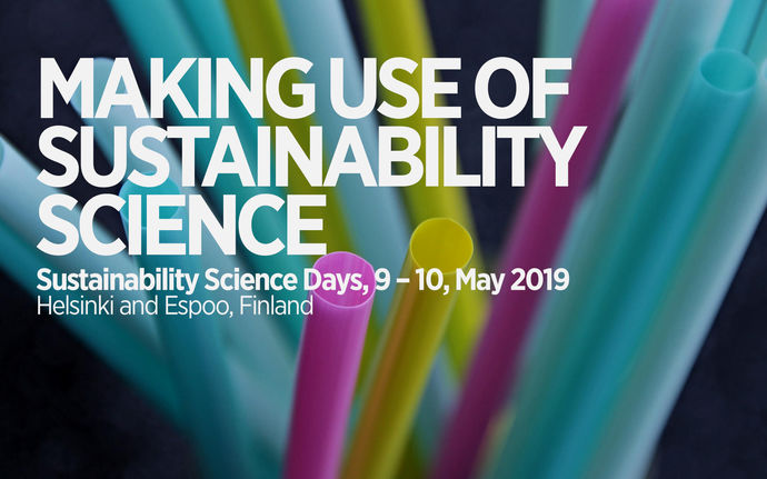 Sustainability Science Days 2019