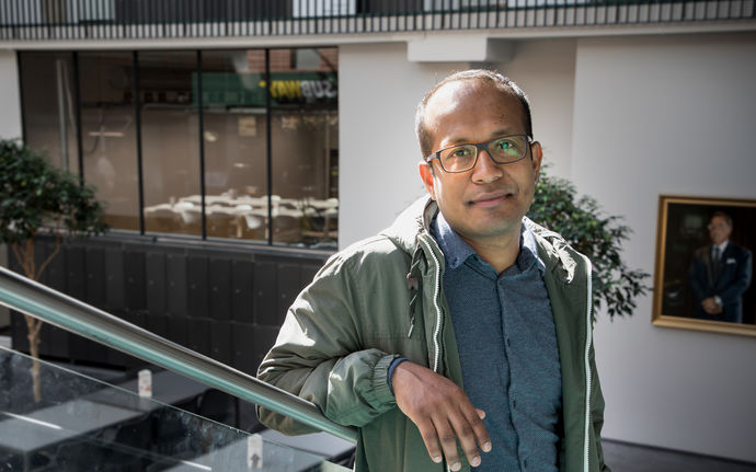 Manik Madhikermi will defend his dissertation on June 10 at Aalto University School of Science. Photo Matti Ahlgren / Aalto University
