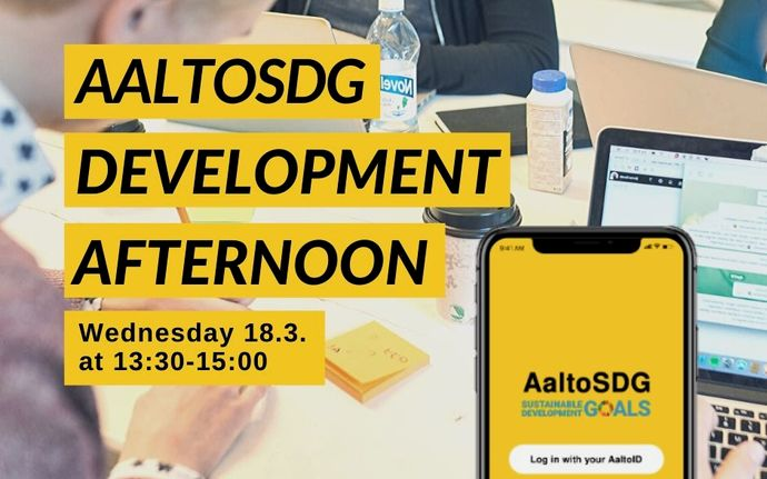 AaltoSDG development afternoon