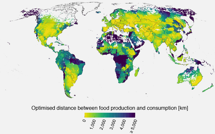 food production map