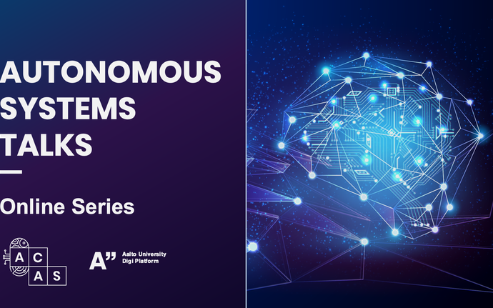 Autonomous Systems Talks: Online Series