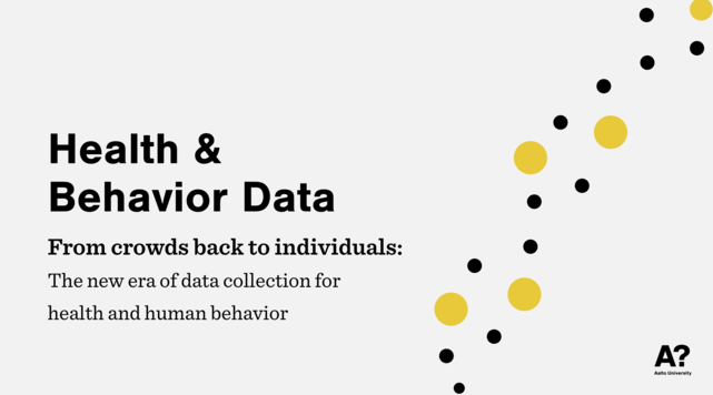 Health & Behavior Data Symposium