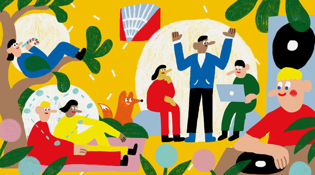 Aalto Festival /Aalto University / Illustration by Anna Muchenikova