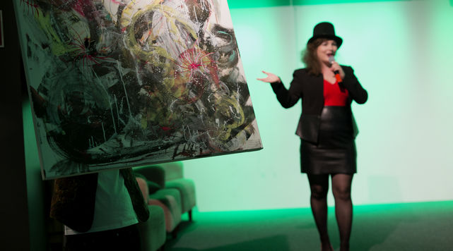 Pitching competition and art exhibition Pic: Sini Suomi