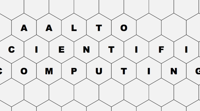 Aalto Scientific Computing