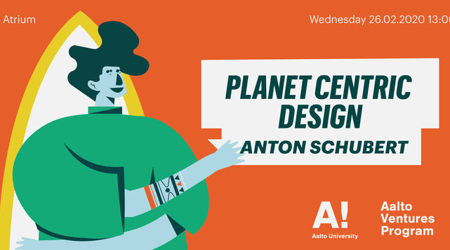 Banner for AVP Masterclass: Planet Centric Design
