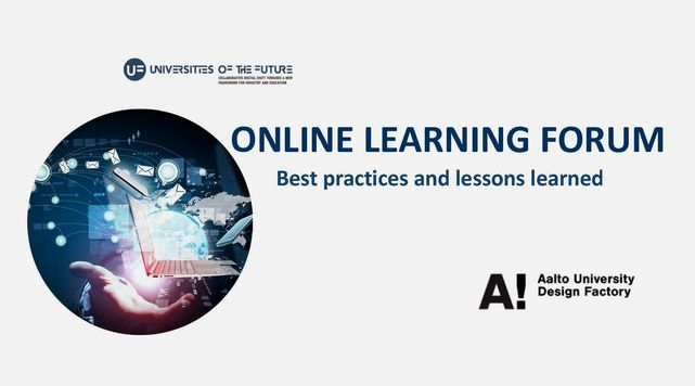 ONLINE LEARNING FORUM - Best practices and lessons learned