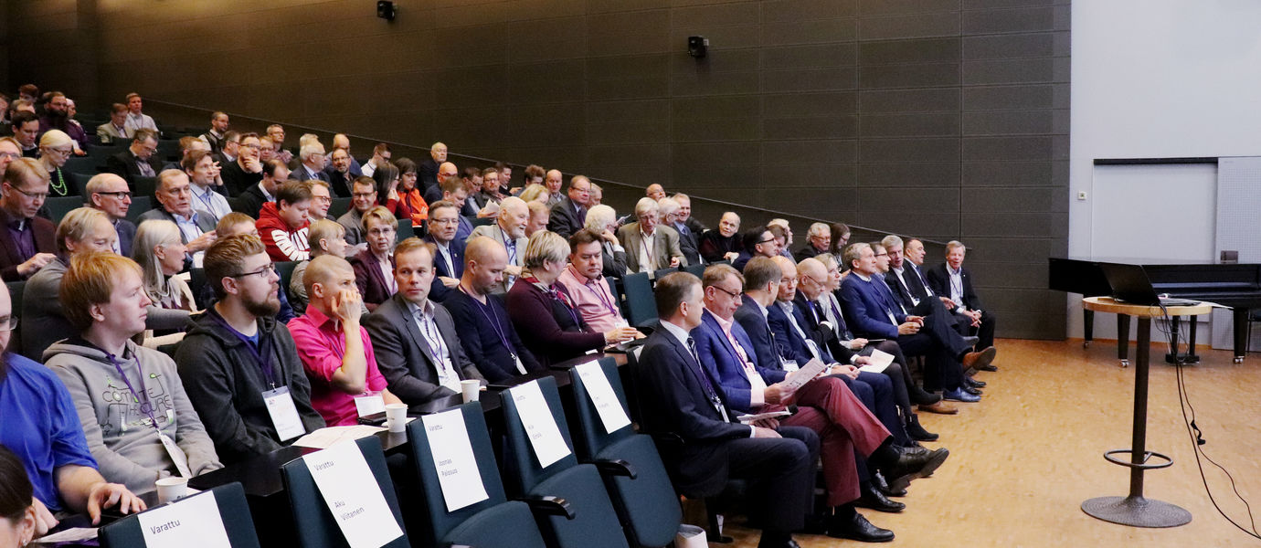 Aalto University / AlumniStudent Weekend 2018 at the School of Electrical Engineering / photo: Linda Koskinen
