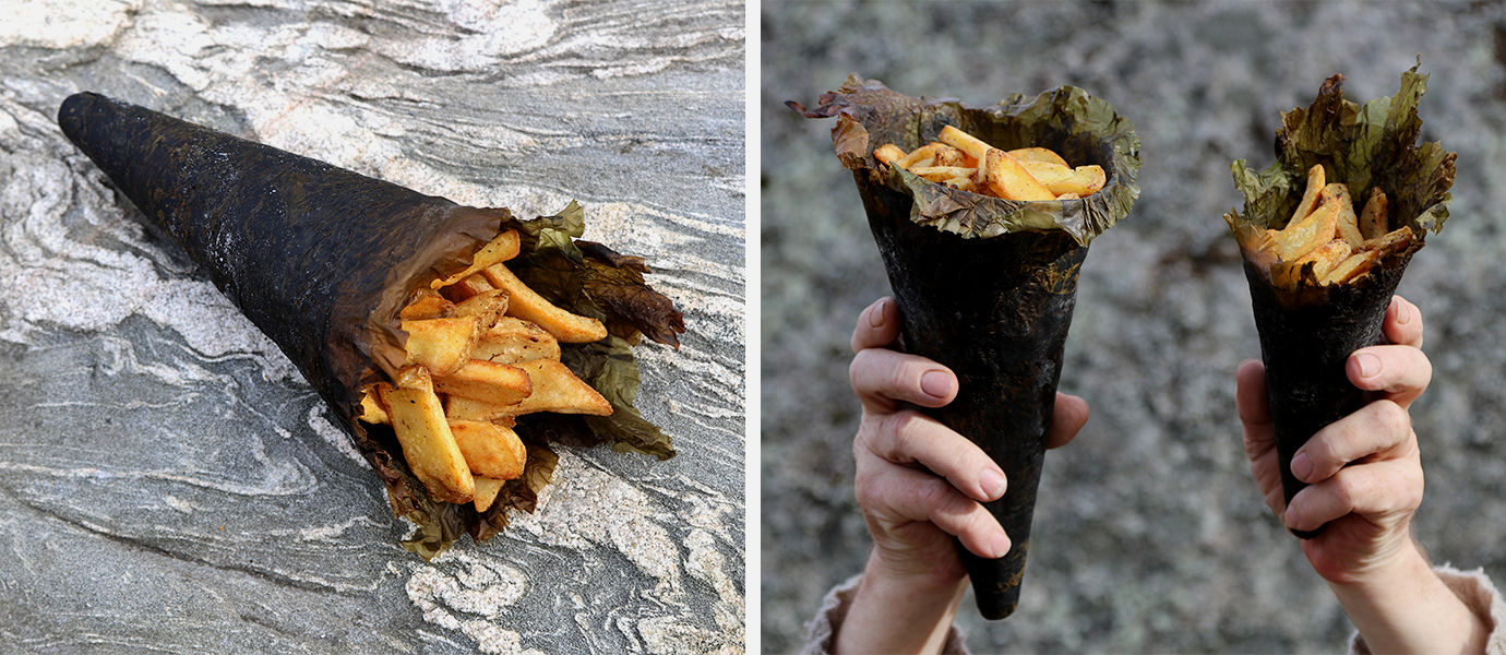 Seaweed Cone, project by Anne Hirvonen