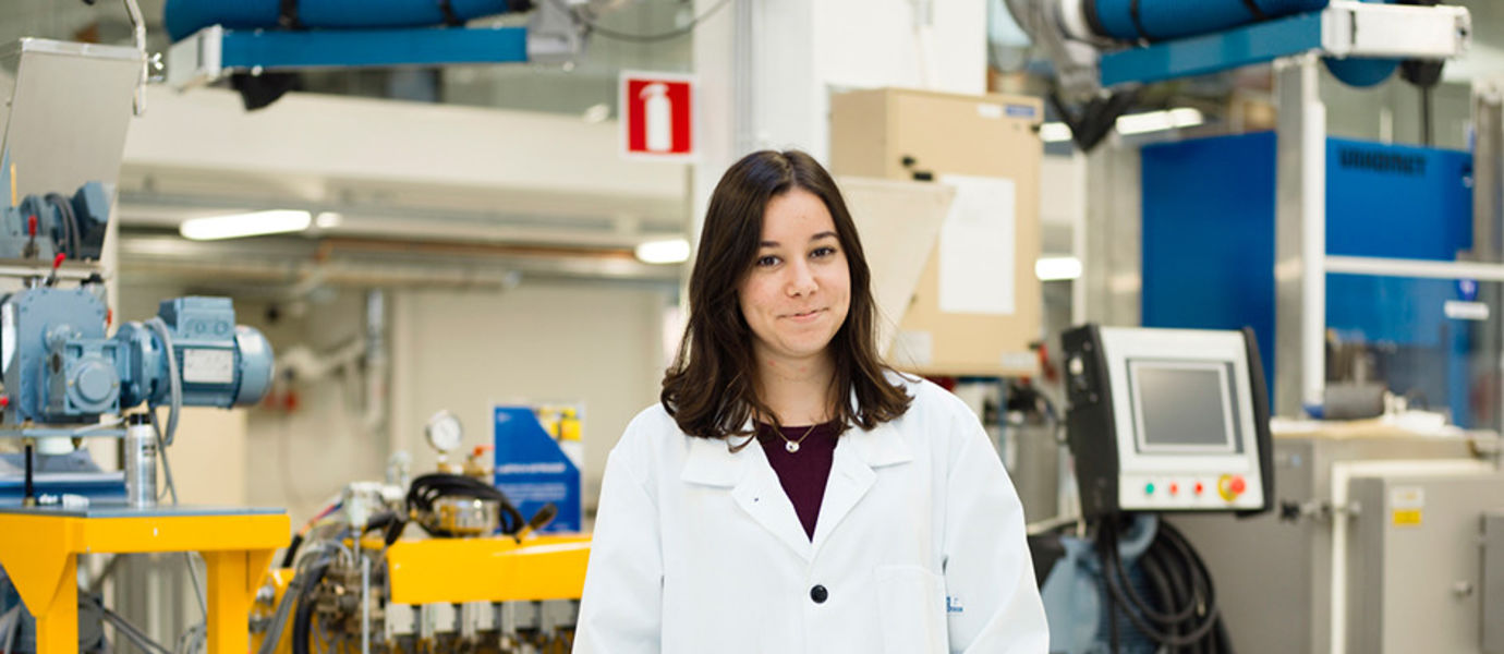Aalto University, Otaniemi stories: Idil Nazli Akture, student of Chemical Engineering / photographer: Sinikoski