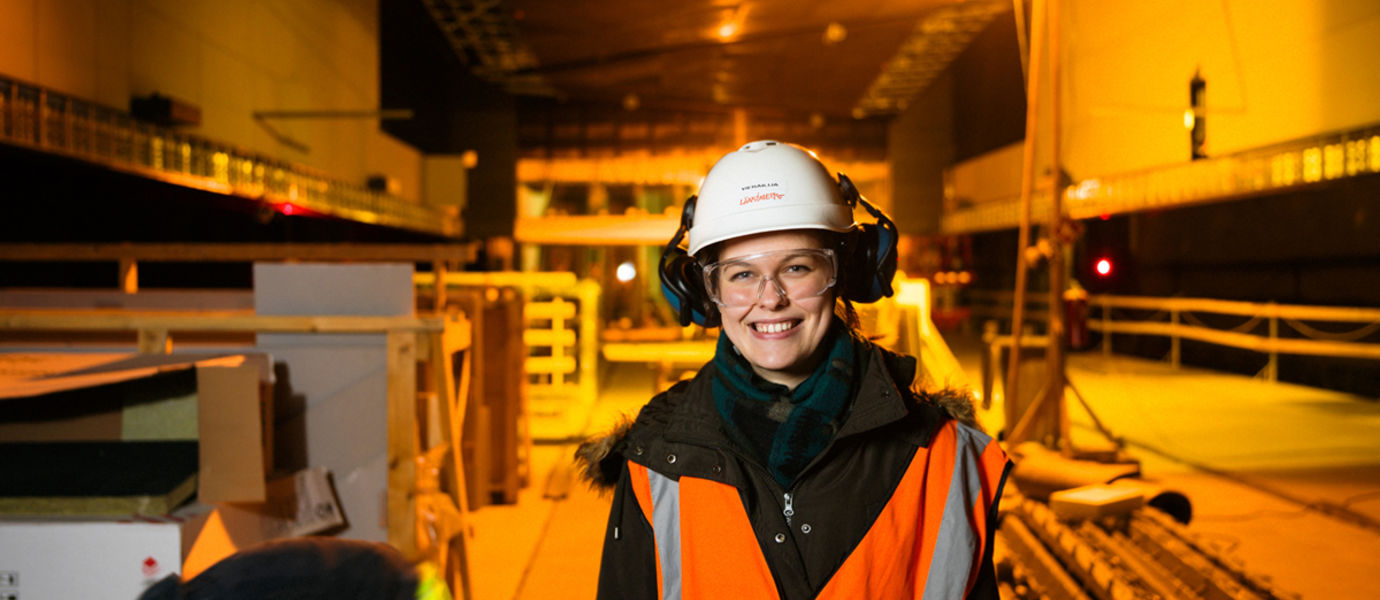 Aalto University, Otaniemi stories: Elizaveta Shishova, student of Mechanical Engineering / Kuvaaja: Sinikoski