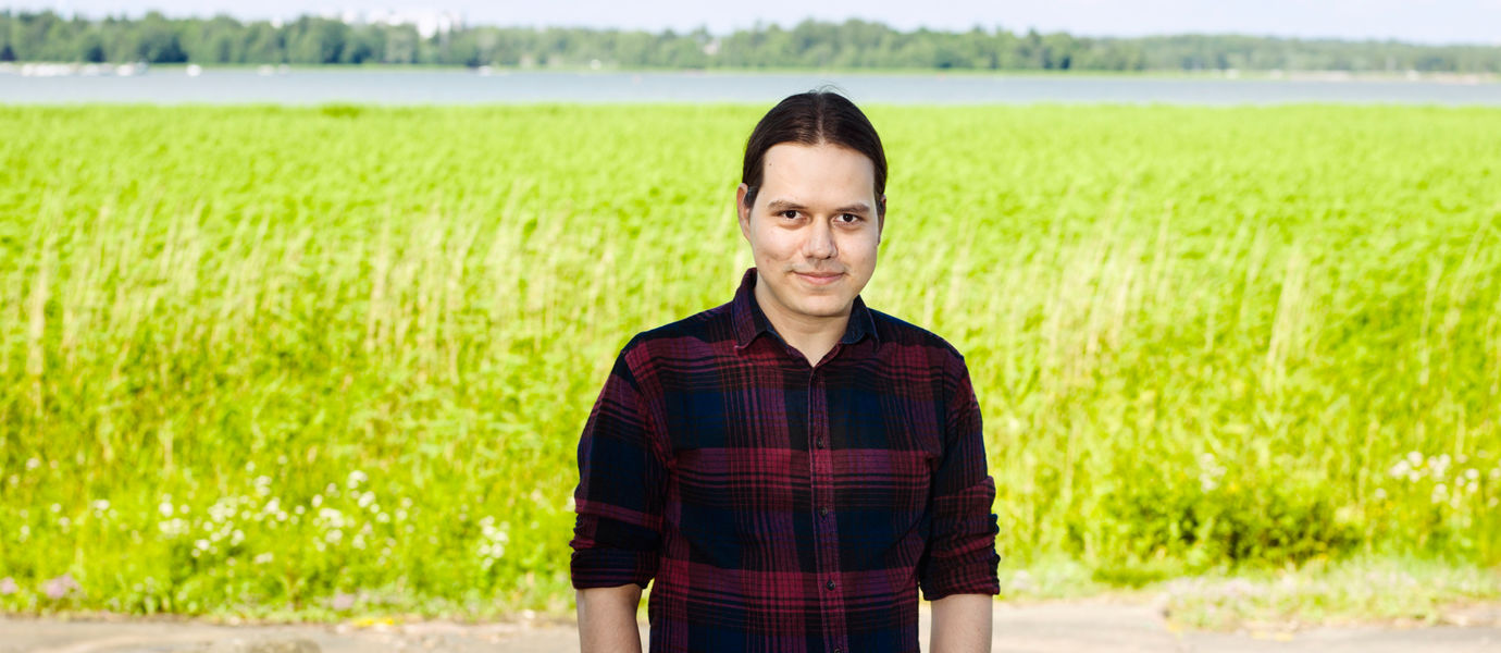 Aalto University, Otaniemi stories: Juan Carlos Vasquez, Composer, Sound and Physical Interaction Research Group, Media Lab / Photographer: Sinikoski