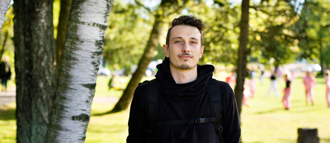 Aalto University, Otaniemi stories: Pavel Horak, student of Acoustic and Audio Engineering / Kuvaaja: Sinikoski