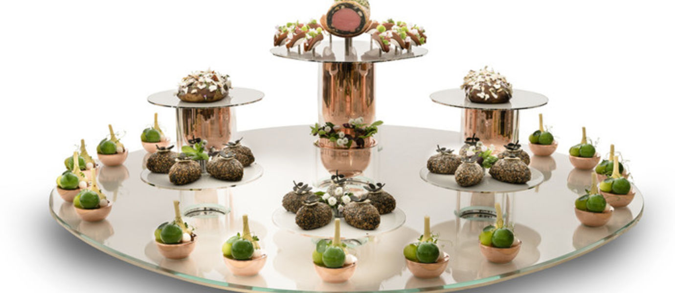 Bocuse d'Or platter by Laura Meriluoto and Klaudia Kasprzak, Aalto University