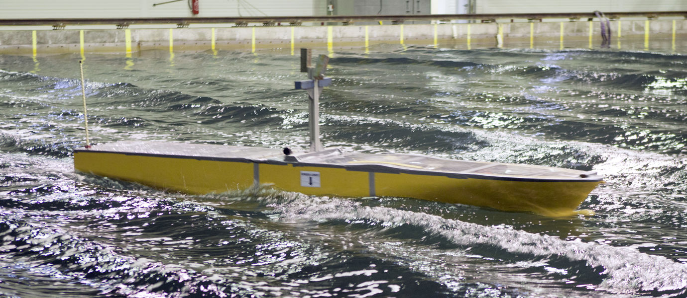 Open-water ship model testing in the Aalto Ice Tank basin
