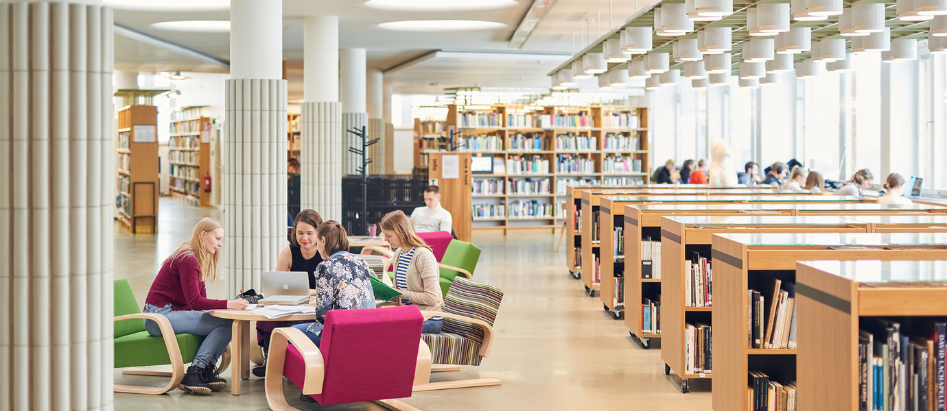 Aalto Learning Centre Interior