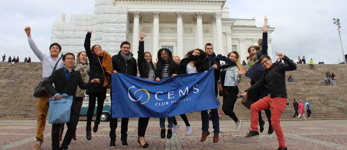 CEMS students in Helsinki