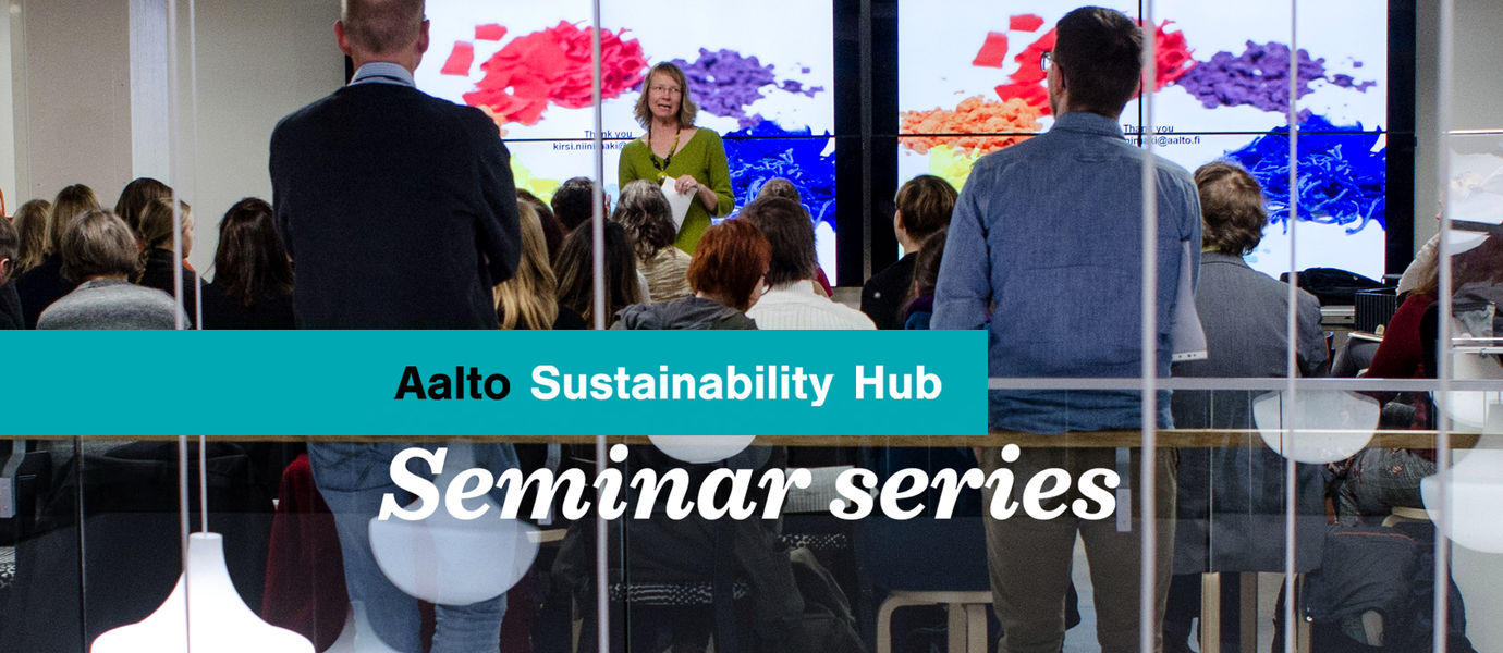 Aalto Sustainability Hub, © Creative Sustainability Heidi Konttinen