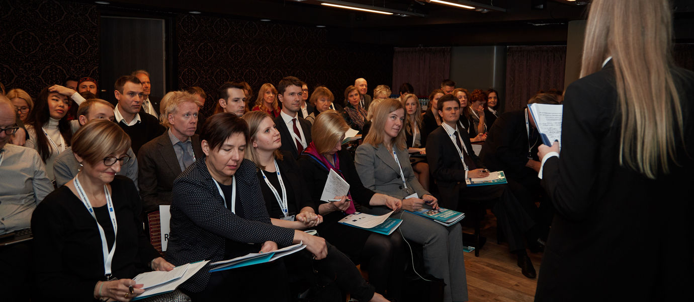 Audience Northern Dimension Future Forum on Culture in St Petersburg 2018