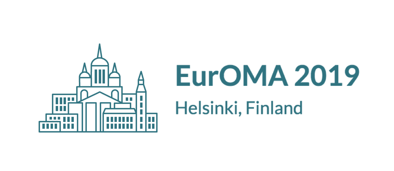 The picture shows the EurOMA logo