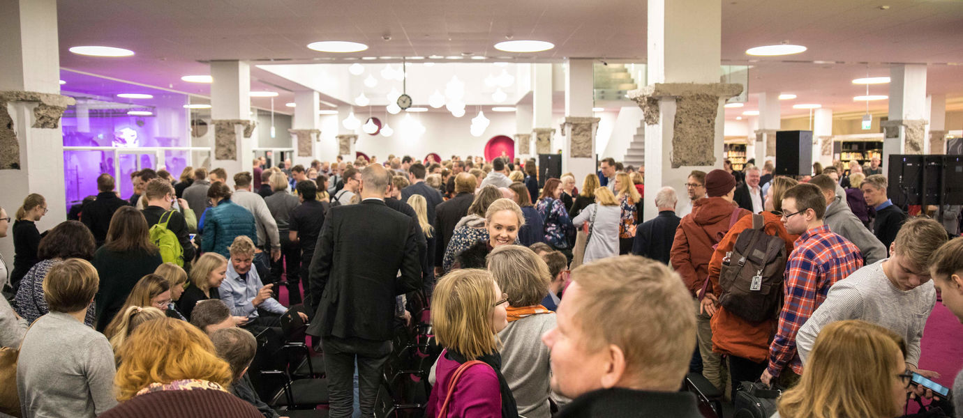 Aalto Strategy kick-off Jan 2019, photo Mikko Raskinen