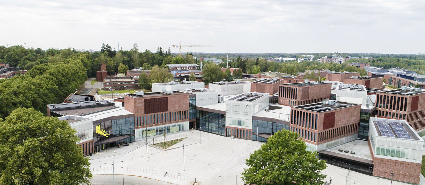 Aalto University / Väre building / Photo: Mikko Raskinen