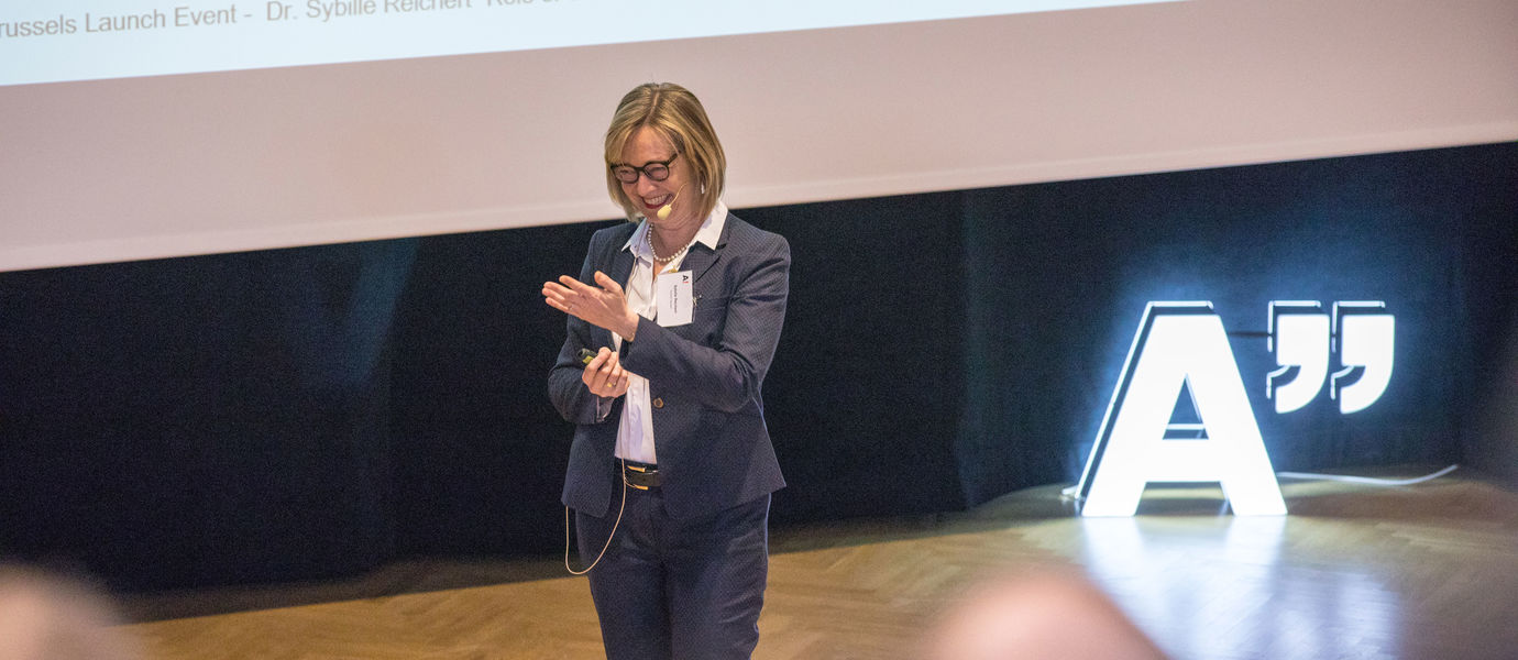 Sybille Reichert at Professors' Summit 2019 / Photo by Mikko Raskinen