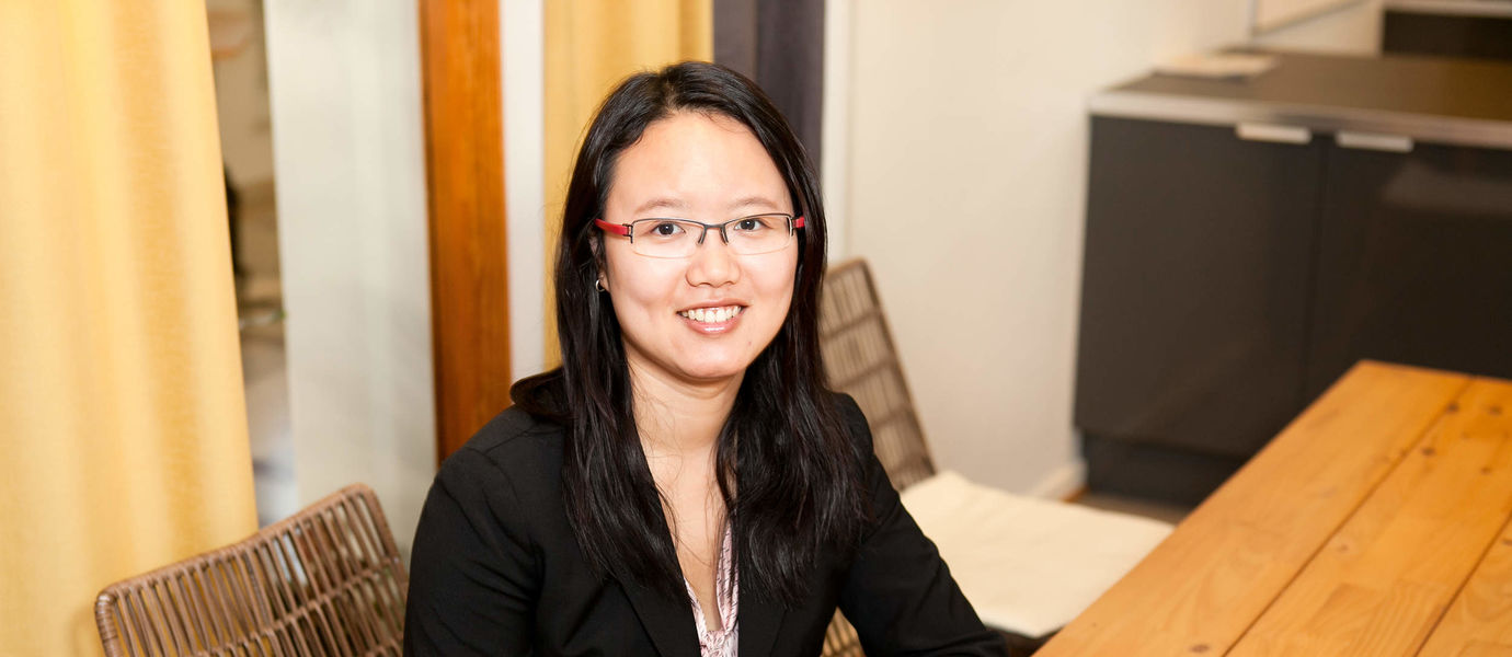 The icture shows Assistant Professor Yao Pan.