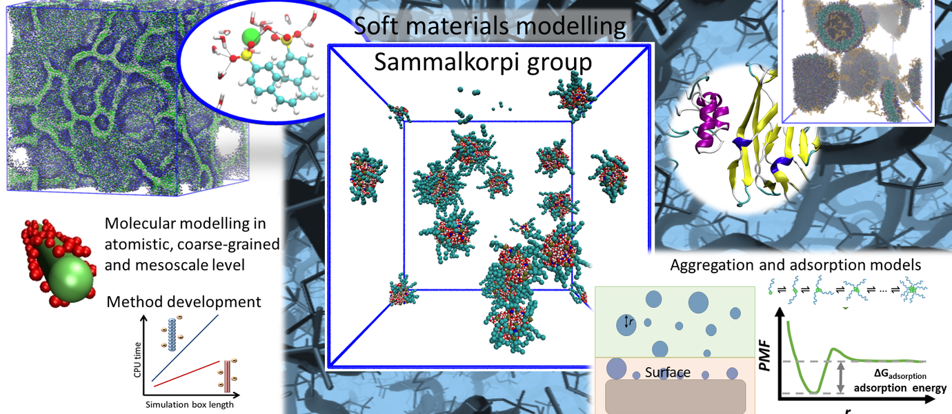 Soft Materials Modelling group Aalto University