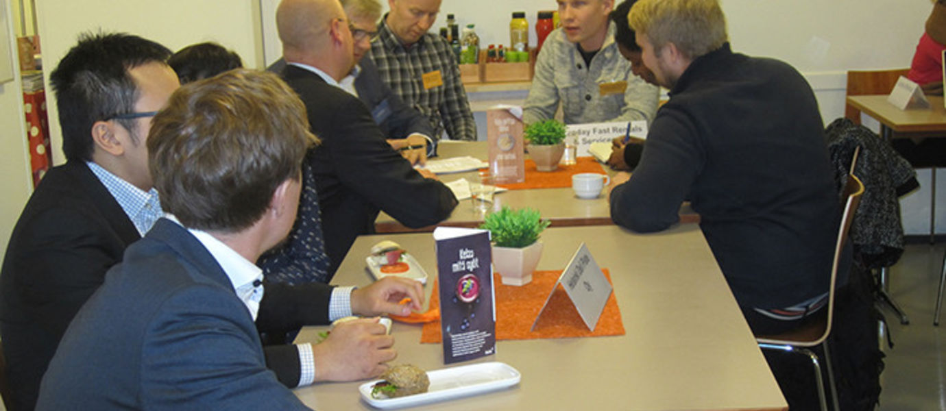 Investors and mentors could ask more about the business ideas before the Nordea Grant award ceremony.