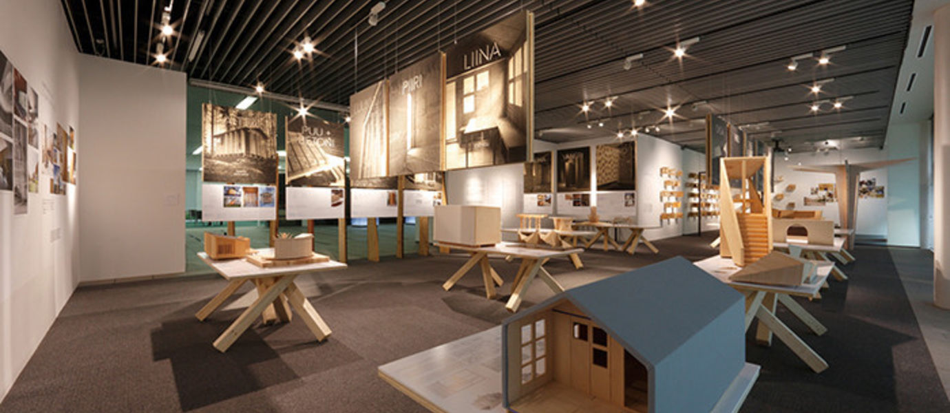 Wood Program Exhibition in Tokyo from 5 June 2015 to 5 August 2016. Photo: A4 gallery / Takenaka Corporation, Tokyo.