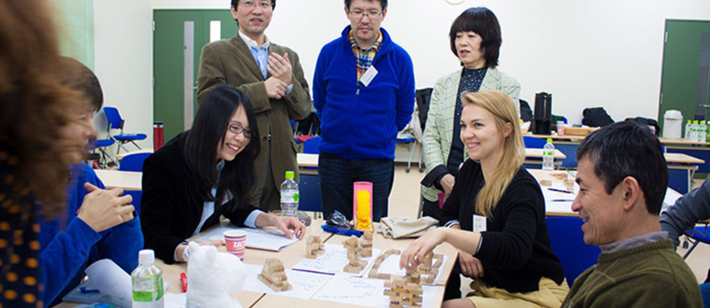 Students and researchers of the IDBM programme held a Design Thinking workshop to engineers of a Japanese university at the beginning of March. The workshop focused on the challenges of product development from the point of view of design and business opportunities. Photo: Jymy Parhiala