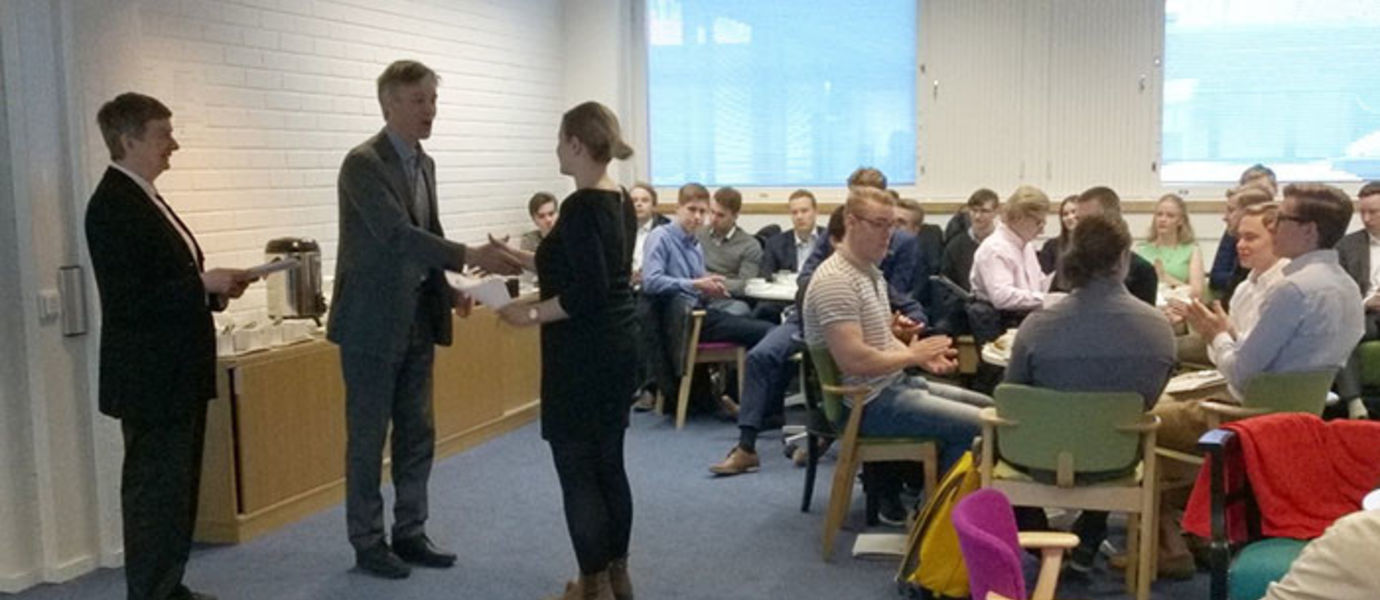 The Ilkka Kontula Foundation scholarships are awarded annually to successful students.